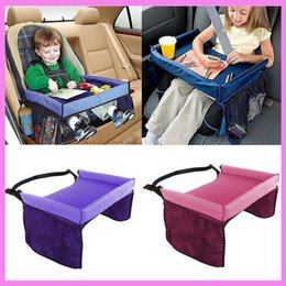 Kids Baby Car Seat Snack Toy Tray Holder Stroller Waterproof Food Table Travel Drawing Play Writing Portable