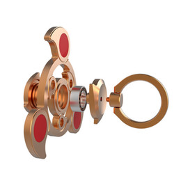 China Finger Fidget Spinner Metal EDC Hand Spinner For Autism and ADHD Anxiety Stress Relief Focus Tri-spinner Spiner Toys cheap toys for adhd suppliers