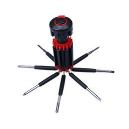 Flashlight saFety online shopping - 8 In Multifunction LED Flashlight Screwdriver Car Auto Emergency Safety Maintenance Tool Repair Kit Box