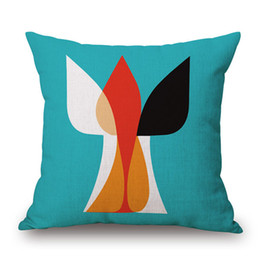 $enCountryForm.capitalKeyWord UK - Nordic Style Linen Pillow Case Waist Bolster Cushion Cover Simple Shape Bright Color Attractive Design Without Filling Office Home Garden