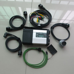 super mb star c5 NZ - Super MB Star C5 SD Conenct diagnostic tool with wifi mb star c5 multiplexer with full set cables for benz car&truck