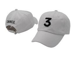 China 2018 style Chance 3 cap Embroidery logo Snapback Hats For Men Women Hip Hop Baseball Cap Sun Hat Golf Sport Cap Casquette Gorras suppliers