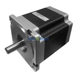 Discount nema 34 stepper motors - Leadshine 86HS65 High Performance 2-Phase NEMA 34 CNC Hybrid Stepper Motor 991 Oz-In Torque (7 N.m) 8-leads #SM685 @SD