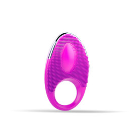 Barato Novo Extensor Do Pénis-Novo DIBEI IGOX Series Jamie 20 Modes Silicone Waterproof Tranquil Rechargeable Penis Cock Rings Vibrating Cock Extender Thorny Brush