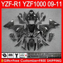 $enCountryForm.capitalKeyWord Canada - 8gifts Body For YAMAHA YZFR1 09 10 11 YZF-R1 09-11 grey flames 95NO68 YZF 1000 YZF R 1 YZF1000 YZF R1 2009 2010 2011 TOP gloss black Fairing