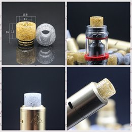 tfv8 wide bore drip tips Australia - TFV12 TFV8 Drip Tip Gold Silver Epoxy Resin Wide Bore Tips Vape Shining Mouthpieces Kennedy Griffin GOON 528 Mad Dog Comp lyfe Tank