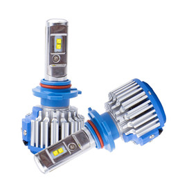 Chinese  LED Car Headlight Bulbs T1 H11 H1 H7 H3 HB3 9005 HB4 9006 H4 12V Super Bright Halogen Replacement Auto Lights Conversion Kit manufacturers