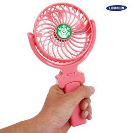 Office bOxes online shopping - NEW Handy USB Fan Foldable Handle Mini Charging Electric Fans Snowflake Handheld Portable for Home Office Gifts with Reatil Box