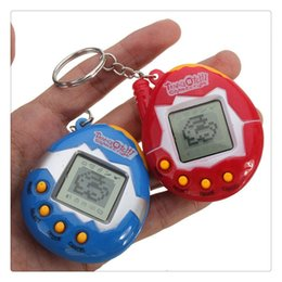 Wholesale Pets In One Funny Toys Vintage Retro Game Virtual Pet Cyber Toy Tamagotchi Digital Pet Child Toys Game Kids Gift Free DHL