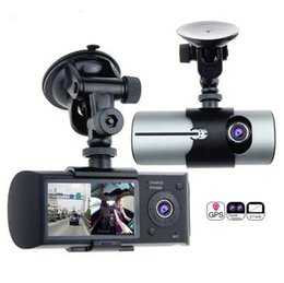 China Dual Lens Car DVR X3000 R300 Dash Camera with GPS G-Sensor Camcorder 140 Degree Wide Angle 2.7inch Cam Video Digital Recorder suppliers