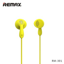 $enCountryForm.capitalKeyWord NZ - Remax RM-301 HIFI Stereo Headset With Microphone In-Line Control Noise Canceling Earphone High Performance For MP3 Player