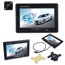 Wholesale 7 quot Inch Car Styling TFT Monitor Screen Automobiles Color LCD Displayer for Raspberry for VCD DVD GPS Camera