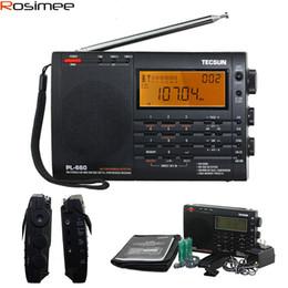 Sw Pack Australia - Wholesale-100% New TECSUN PL-660 Radio PLL SSB VHF AIR Band Radio Receiver FM MW SW LW Radio Multiband Dual Conversion TECSUN PL660 Y4133A