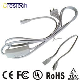 Connecteurs d'alimentation Câble de câble en queue de cochon plus long Filaire électrique avec interrupteur ON / OFF 303 intégré