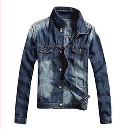 Discount Mens Blue Jean Jackets | 2017 Mens Blue Jean Jackets on ...