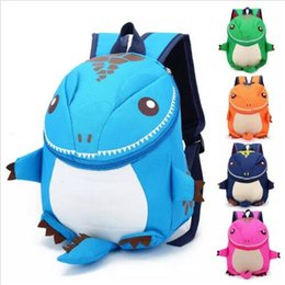 children plain backpacks 2019 - The Good Dinosaur kids backpack Cartoon Arlo Anti Lost kindergarten girls boys children backpack school bags animals din
