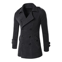 Long Wool Cashmere Trench Coat Mens Online | Long Wool Cashmere ...