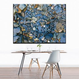 Unique Sheets Canada - ZZ1214 Stone Canvas Picture Art Print Wall Painting Home Decor for Living Room Unique Home Decoration Unframed wall decor art