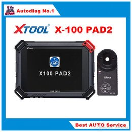 Wifi Keys NZ - Original XTOOL X100 PAD2 with 4 and 5 IMMO Auto Diagnosis Key Copy OilRst Odometer TPMS TPS X-100 PAD 2 Better than X300 PRO3