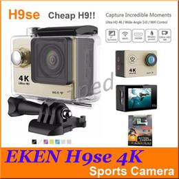 EkEn h9sE online shopping - Hot sale Ultra HD K Video Action Camera EKEN H9 H9SE degrees Sports Camera quot Screen K p fps colors Cheapest