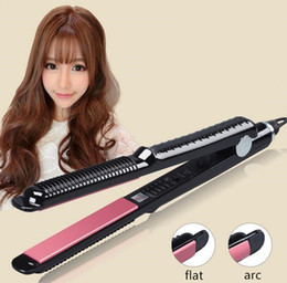 More Bangs NZ - Curved does not hurt the air bangs buckle the temperature straight hair curler hairpin hair styling tools