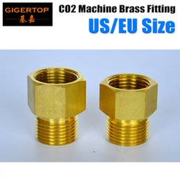Co2 Jet Hose NZ - CO2 Jet Machine's Brass Connector,Connect To The CO2 Tank Of The DMX CO2 Machine Gas Hose Form TIPTOP Led stage light ktv light