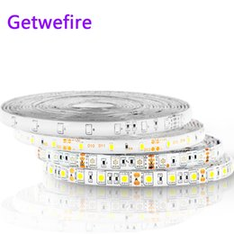 China Hot sale 5M 300Leds waterproof RGB Led Strip Light 3528 5050 DC12V 60Leds M Fiexble Light Led Ribbon Tape Home Decoration Lamp supplier rgb lighting sale suppliers