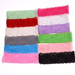 Chinese  Wholesale- 10pcs Baby Boutique Headband lots girl hair accessory child lace hairband elastic headbands hair bands flower headband manufacturers