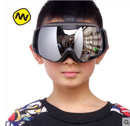ski goggles kids 2019 - Nandn Kids Ski Goggles Gafas Children Girl Boy Skiing Glasses Double Lens Snowmobile Snowboard Googles Skate Eyewear NH6