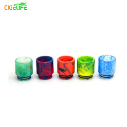 $enCountryForm.capitalKeyWord UK - 2016 Special Offer Someday Factory Wholesale Epoxy Resin New Stainless Steel + Stone Drip Tip Jade Jewelry Turquoise Tfv8 ,drip Tips
