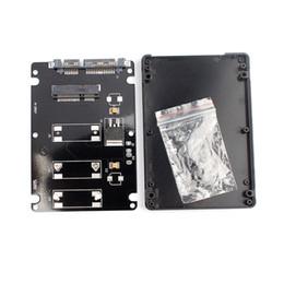 $enCountryForm.capitalKeyWord UK - Wholesale- Superior Mini pcie mSATA SSD To 2.5Inch SATA3 Adapter Card With Case