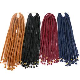 Super hair extenSionS online shopping - Kanekalon synthetic braiding hair Magic Braids inch g strands Flame Retardant Fiber super light Crochet braids hair extensions