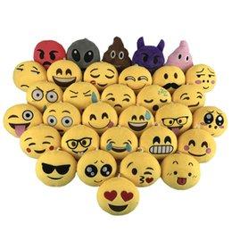 Fabrika doğrudan satış emojiQQ ifade süsleme aksesuarları peluş oyuncaklar yaratıcı takı cep telefonu kolye bebek