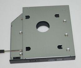 Hdd esata online shopping - mm SATA nd Hard Disk Drive HDD SSD Caddy Adapter for LENOVO V450 V460 V470