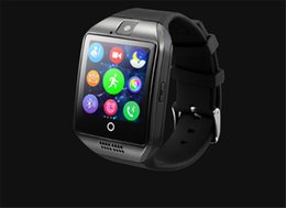 $enCountryForm.capitalKeyWord Australia - Q18 Smart Watch Bluetooth Wearable Curved Screen High Quality Support NFC SIM GSM Facebook camera For Android IOS Phone Wristwatch