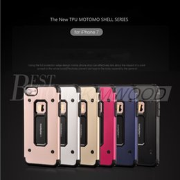 best iphone case designs 2019 - For iPhone 7 Case New Design motomo iPhone 7 plus Hybrid Case 2 in 1 TPU and Metel Armor Case Best Shockproof