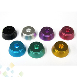 HigH quality aluminum online shopping - Colorful Clearomizer Base Atomizer Stand Aluminum Metal Holder Suit for Clearomizer high quality DHL Free