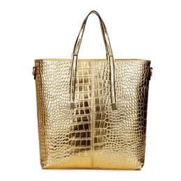0d794262ffa4 bag cushion 3Pcs Luxury Alligator Crocodile Women Leather Handbag Set  Famous Brand Women Shoulder Bags Ladies Handbags Purse Clutch Bag Gold