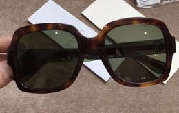 $enCountryForm.capitalKeyWord NZ - Women Square Sunglasses 0036 S Havana Green Lenes 54mm Fashion sunglasses 2017 new with box