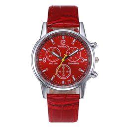 $enCountryForm.capitalKeyWord Australia - New Arrival Hot Watch Wholesale 6 Colors Leather Belt Watch Casual Alloy Wristwatch For Men Women