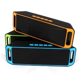 Computer support online shopping - SC208 Mini Portable Bluetooth Speakers Hot Sell Wireless Loudly Music Player Big Power Subwoofer Support TF USB FM Radio