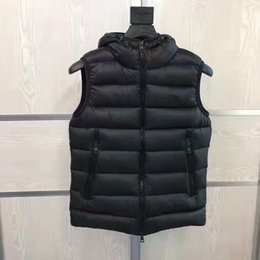 Chaquetas Para Hombres Talla S Baratos-M331 French anorak hombres chaleco gillets del invierno UK popular gilets Chaleco Body Warmer Warm Plus Size hombre abajo y parka anorak chaleco