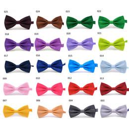 $enCountryForm.capitalKeyWord Canada - Men's Women's Bowtie Bow Tie Solid Colors Plain Silk Polyester Pre Tied Ties For Party Wedding