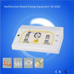 butt cups Canada - RU 8205 Factory price breast suction cups vibrating breast massager vacuum butt lifting breast enlargement machine equipment