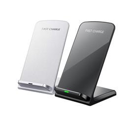 2 Spulen Wireless Charger Qi Wireless Ladestation Pad für Apple iPhone X 8 8 Plus Samsung Hinweis 8 S8 S7 alle Qi-fähigen Smartphones