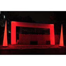 Inflatable arch decoration online inflatable arch decoration for wholesale inflatable led lighting arch led light wedding arch waycolorful lighting inflatable arch with led for partyevent decoration junglespirit Image collections