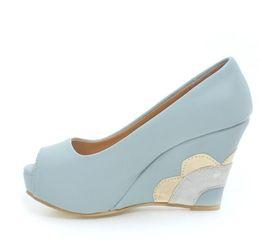 Chinese  Elegant T strap rivets platform wedge wedding shoes women ballroom dance shoes summer Size 34 to 39 manufacturers