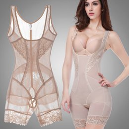 Grossistes En Gros Pas Cher-Vente en gros - Femmes Été Style Body Shapers Shaping Slim Underwear Taille Corsets Butt Lifter Sculpting Vêtements Shapewear Bodysuit