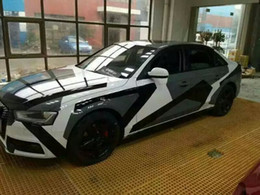Transformer car wraps online shopping - 2017 Pixel Camo VINYL Full Car Wrap Graphic Camouflage Foil Gloss Matte finish truck covering Sticker with air free size x m Roll