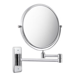 Bathroom Shelves Strong Suction Holder Shampoo Corner Triangle Shelf Chrome Plate Accessory Hardware Make Up Mirror NB